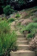 That is How to Make Garden Steps on a Slope 10